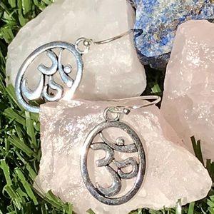 Dangle Ohm Sterling Silver Hook Earrings Jewelry